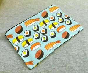 Sushi Fish Japan ALL OVER Tokyo Food Gym Funny Shopper Tote Bag Shopping 532