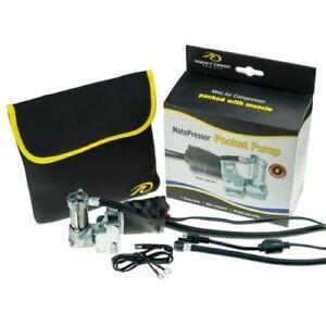 Rocky-Creek-Motopressor-Motorcycle-Tyre-Pocket-Pump-Mini-Compressor-5yr-Warranty