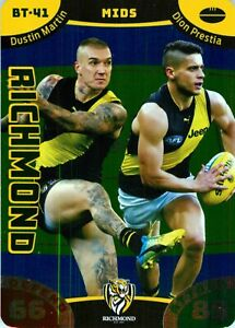 New-2019-RICHMOND-TIGERS-AFL-Premiers-Card-DUSTIN-MARTIN-amp-DION-PRESTIA