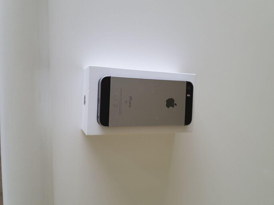 iPhone SE, 128 GB, grå