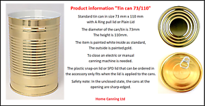 48 In A Box 73mm  X 110mm Cans With Ring pull Lids