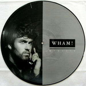 NEAR-MINT-nm-GEORGE-MICHAEL-WHAM-I-039-M-YOUR-MAN-12-034-Vinyl-Picture-Disc-EX