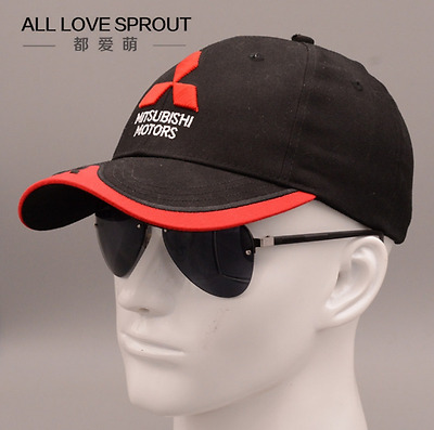 New 2016-2017 3D Mitsubishi car logo moto gp moto racing baseball cap