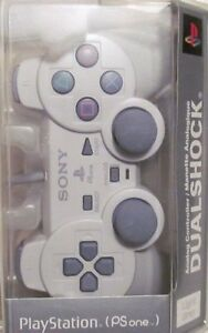 Sony-PS1-Dual-Shock-Controller-Great-Condition-Fast-Shipping