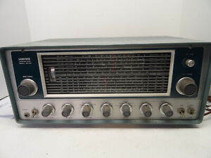 Lafayette HA-225 Tube Shortwave 5 Band Amateur Radio VHF Receiver AM/SSB-CW WORK