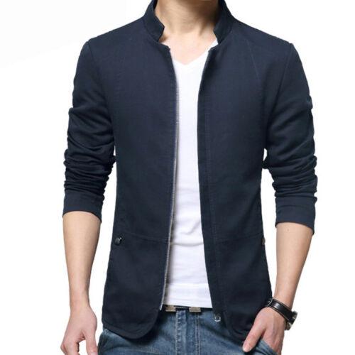Men/'s Long Sleeve Slim Knitted Cardigan Warm Sweater Jumper Jacket Coat