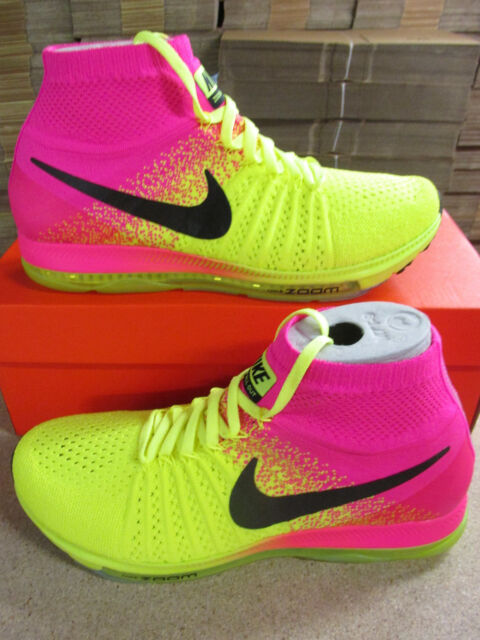6f284f8bb9e1 Nike Zoom All Out Flyknit OC Mens Running Trainers 845716 999 Sneakers Shoes