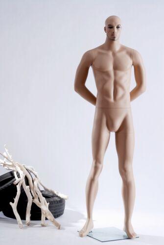 M-10 Hautfarbe Gesicht Schick männliche Schaufensterpuppe Hochwertige Puppe Neu