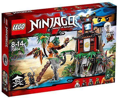 LEGO Ninjago 70604  Tiger Widow Island - Brand Brand Brand New d441cf
