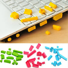13pcs/set Universal Silicone Dustproof Anti-Dust Plug Cover for Laptop Notebook