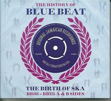 THE HISTORY OF BLUE BEAT THE BIRTH OF SKA BB101 -BB125 A & B SIDES - 3 CD BOXSET