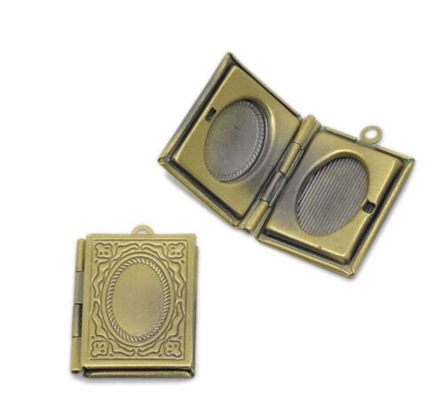 Bronzefarben Medaillon Anhänger M1412