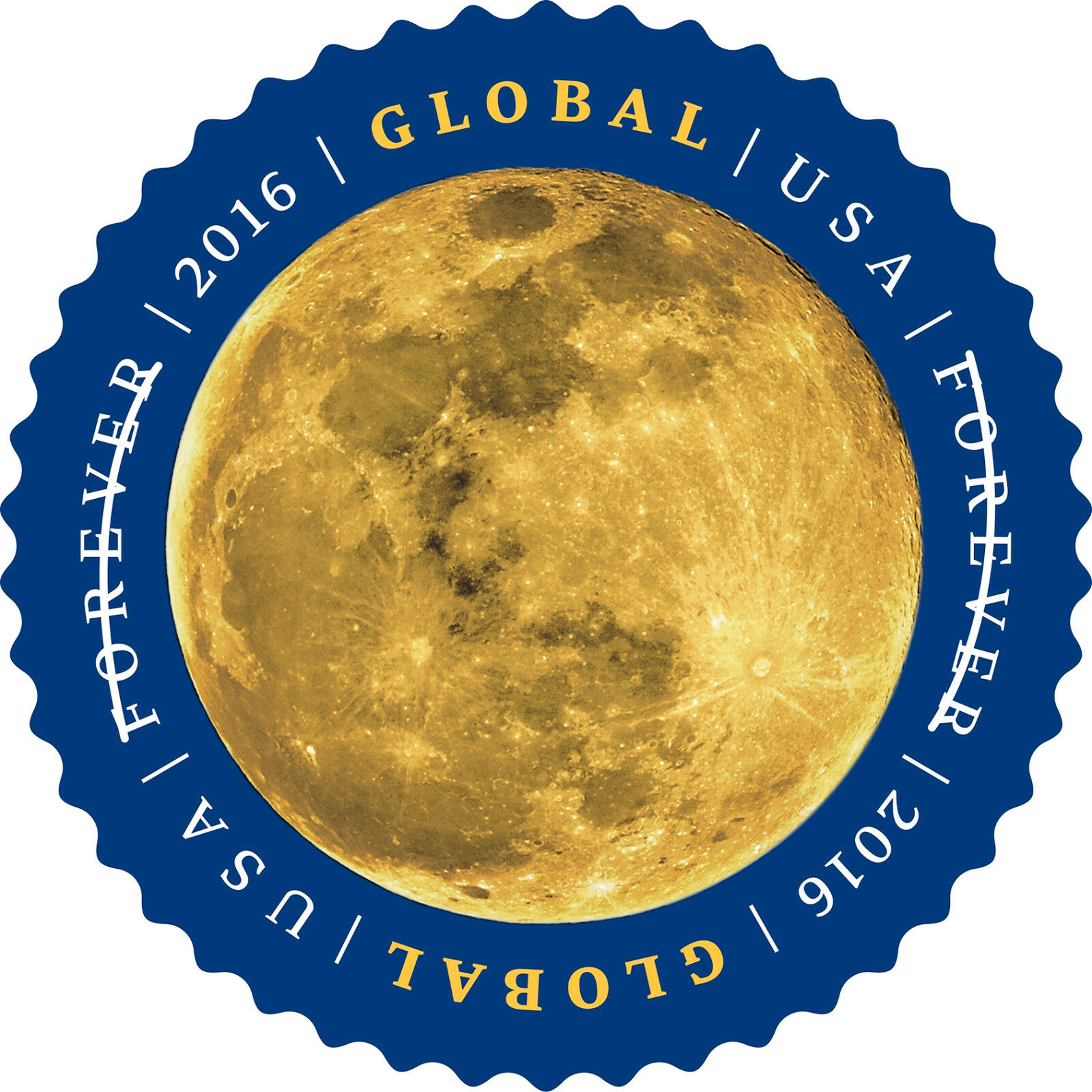 2016 $1.15 Global International Forever: The Moon Scott