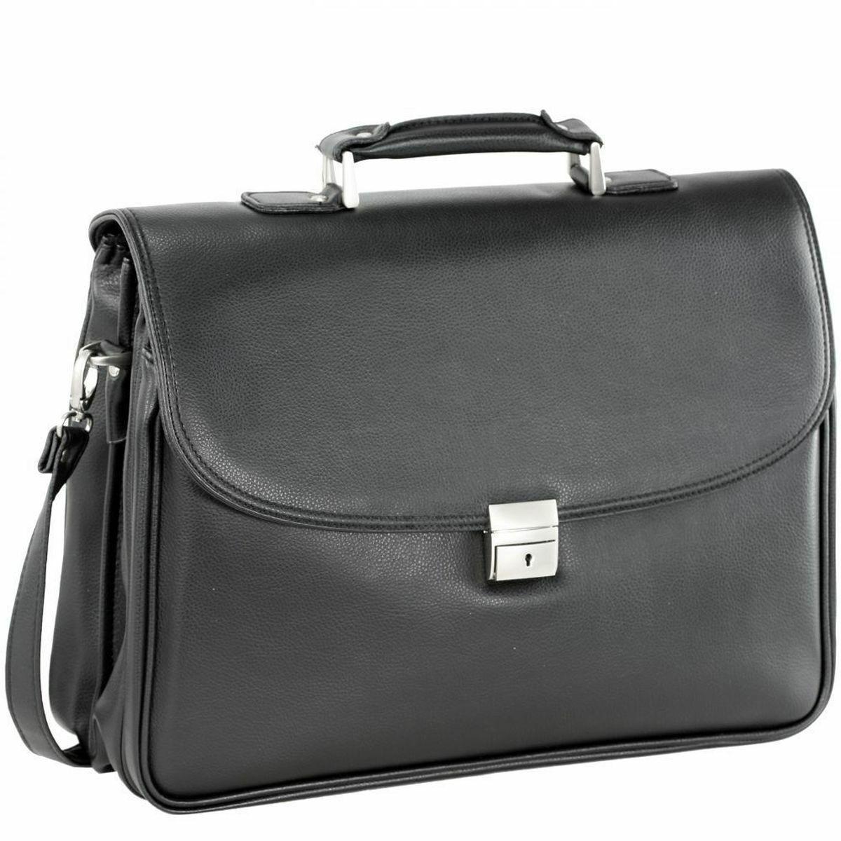 Akten Arbeits Umhänge Tasche Schwarz 44 x33x17cm Groß D & N – Bowatex | Charmantes Design  | Vielfalt  | Outlet