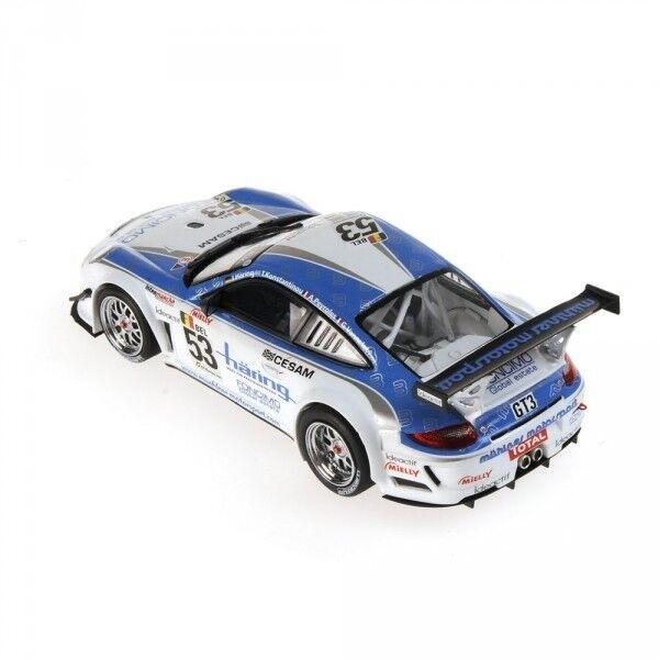Porsche 911 911 911 Gt3r Vannelet Peyroles Haering Class Winners 24h Spa 2010 1 43 Model 2c60ba