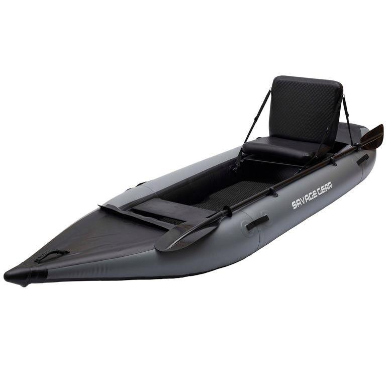 Savage Gear High Rider Kayak 330 da pesca barca a remi barca da pesca 3,30m barca a remi