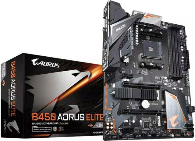 Aorus B450 AORUS ELITE Socket AM4/B450/DDR4/S-ATA 600/ATX