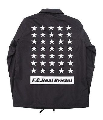 F.C REAL BRISTOL SOPHNET F.C.R.B. 35 STAR COACHES JACKET FCRB 160028 | eBay