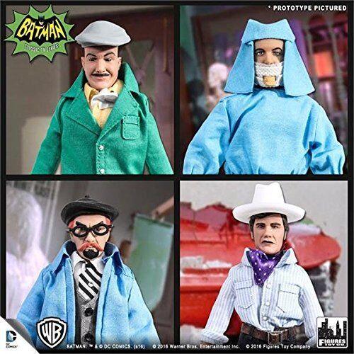 Batman Classic 1966 TV Series Villain Variant Set of 4 Figures Toy