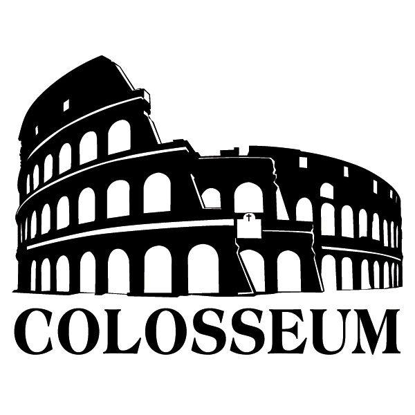 Colosseum Rom 2 Wandtattoo Wandtattoo Wandtattoo Italien Bauwerk Wahrzeichen Deko Wandbilder Wohnzimme 9714ea