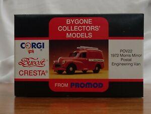 CORGI BYPOST CRESTA FROM PROMOD - 1972 MORRIS MINOR Postal Van  POV22