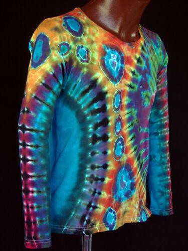 Power Goa s Batik 5xl Flower T Dye Neu Tie Gr Hippie Handgefärbt Langarm shirt Pq7Cx76R