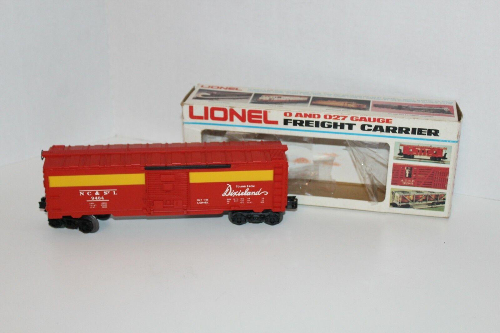 Lionel, north carolina und st. louis 6-9464 waggons box car zug o - skala box r