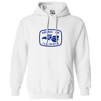 Hecho en Illinois HOODIE - Hooded Sweatshirt Made in Born - All Sizes & Colors