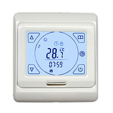 Touch Screen LCD Programmable Floor Heating Thermostat Controller Temperature