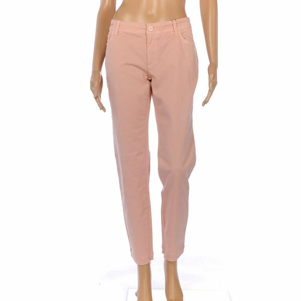 DOLCE & GABBANA Jeans Salmon Rosa Cotton Skinny Fit Größe 31 FX 827