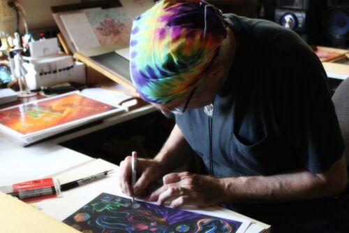 SIGNED by Jason Becker and Gary Becker Art Print SPIRIT OF JASON 24x18 Inches