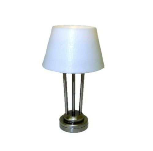 Dollhouse Battery Lighting Modern Table Lamp Contempory 1:12 Miniatures