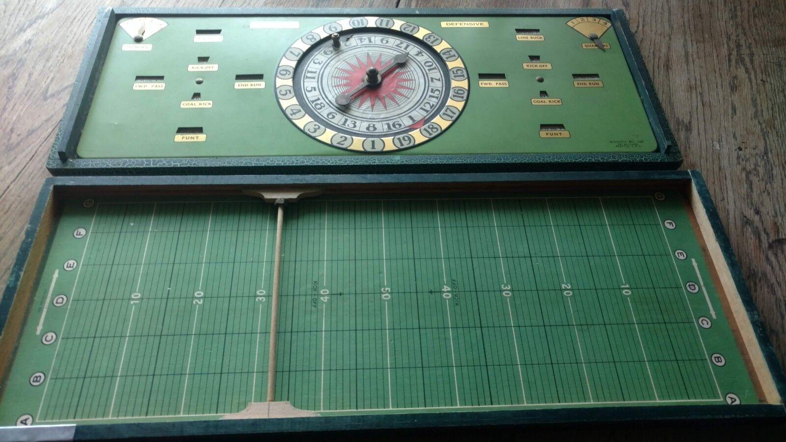 rossoolette Football game Seattle Washington USA patent 1731939  vintage 1930 game
