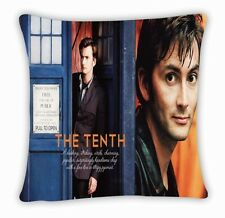Dr Doctor Who Tardis Police Box Throw Pillow Cushion Case Cover Free Shipping
