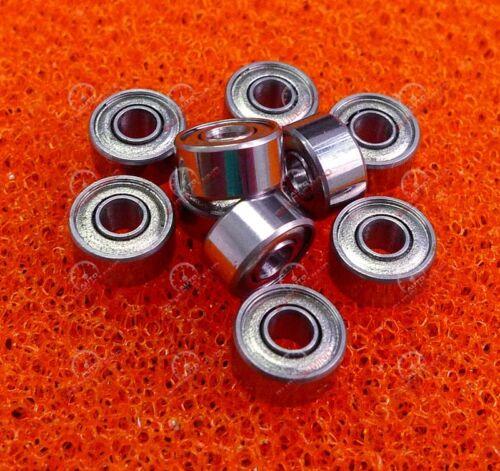en métal double Blindé Roulement à billes Bearings 693z 5 pcs 3x8x4 mm 693ZZ