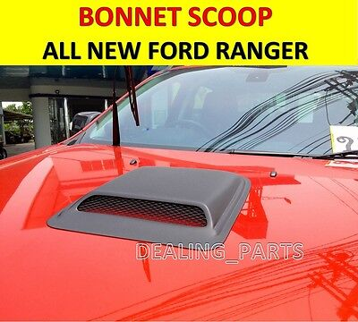 BONNET AIR FLOW INTAKE SCOOP COVER COLOURED FOR ALL NEW FORD RANGER 2012