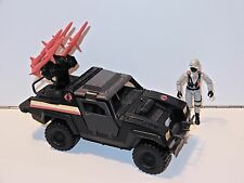 1985 GI JOE / ACTION FORCE COBRA NIGHT ATTACK JEEP 100% COMPLETE w/ DRIVER