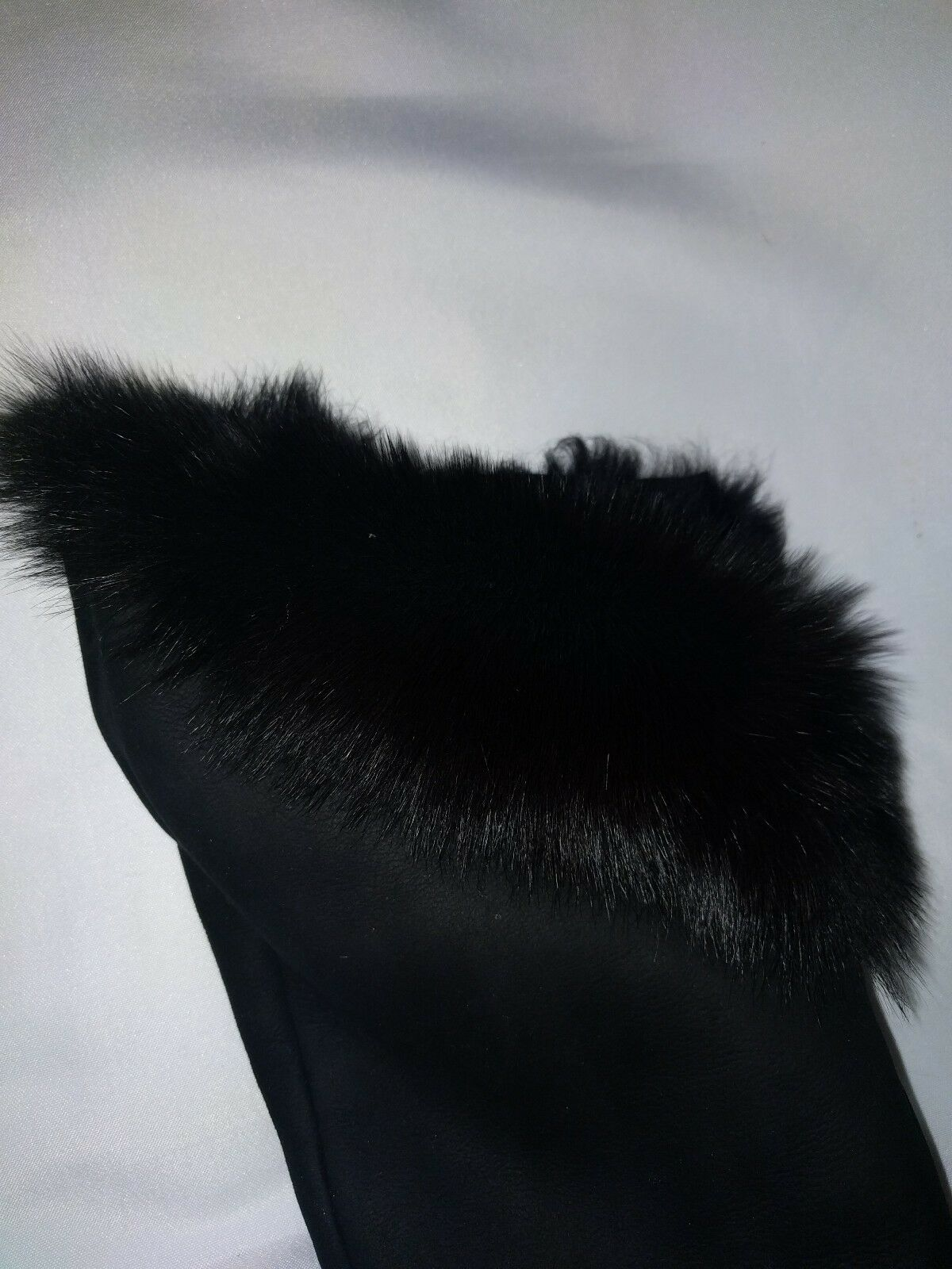 Guiseppe zanotti Design Vicini Suede Over Over Over the Knee Fur lined Platform Stiefel 38 592438