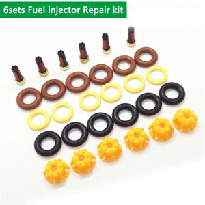 6sets-Fuel-injector-Repair-kits-For-BMW-Bosch-Nozzle-0280150415-0280150440