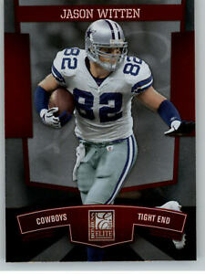 2010 Donruss Elite #25 Jason Witten - Dallas Cowboys