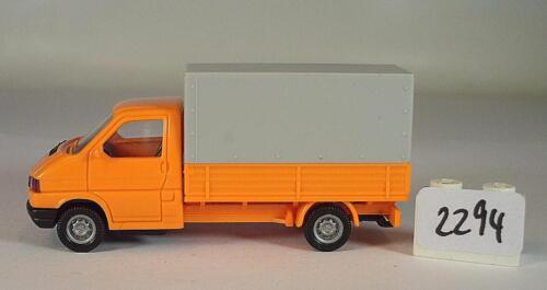 Wiking 1//87 Volkswagen VW T4 Pritsche orange #2294