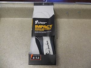 THOR IMPACT SHOCK ABSORBING FOOTBEDS INSOLE FITS BOOT SIZE 6.5 - 7