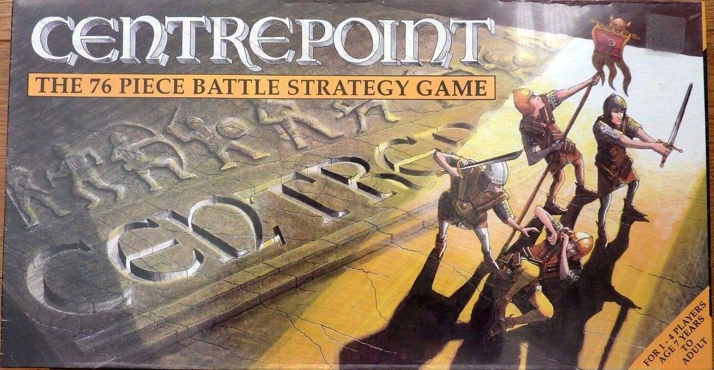Centrepoint Vintage 76 Pieza estrategia de batalla Juego de Mesa 1987 Nuevo y Sellado