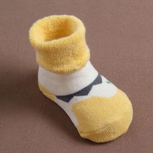 Hot Sale Toddler Baby Boys Girls Cartoon Animals Anti-Slip Knitted Cotton Sock