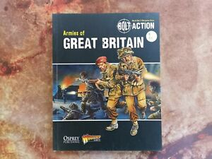 Armies of Great Britain - Bolt Action - Warlord Games