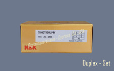 Nsk 7014ctrdulp4y Abec 7 Super Precision Spindle Bearings Set Of Two