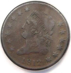 1812-Classic-Liberty-Large-Cent-1C-ANACS-VF30-Details-Rare-Date-Penny