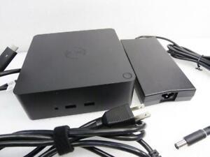 Dell K16A Thunderbolt Dock USB Type-C 0J5C6 Docking Station w/ Dell AC Adapter