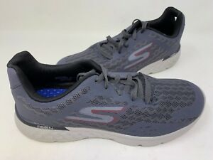 ea44040fca96 NEW! Skechers Men s GORUN 400 DISPERSE Running Shoes Char Red  54353 ...