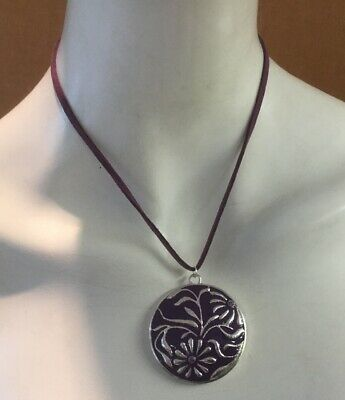 Begeistert Qvc Costume Jewellery Purple Necklace Hell In Farbe